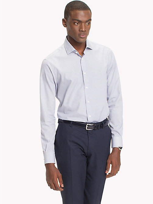 TOMMY HILFIGER Slim Fit Shirt - 103 - TOMMY HILFIGER Tailored - main image