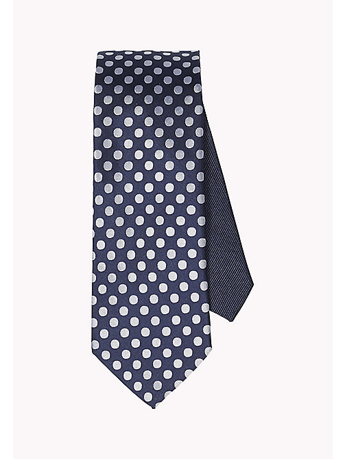 TOMMY HILFIGER Dotted Silk Tie - 010 - TOMMY HILFIGER Ties & Pocket Squares - main image