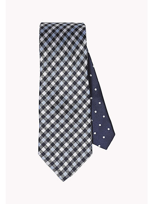 TOMMY HILFIGER Checkered Silk Tie - 415 - TOMMY HILFIGER Ties & Pocket Squares - main image