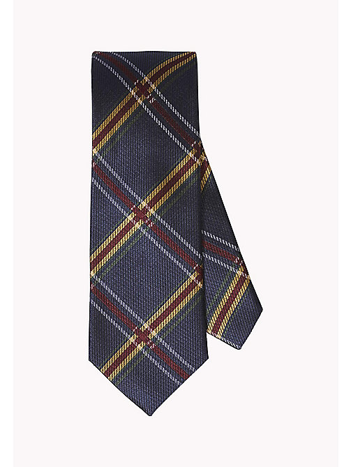 TOMMY HILFIGER Cravatta in seta tartan - 429 - TOMMY HILFIGER Tailored - immagine principale