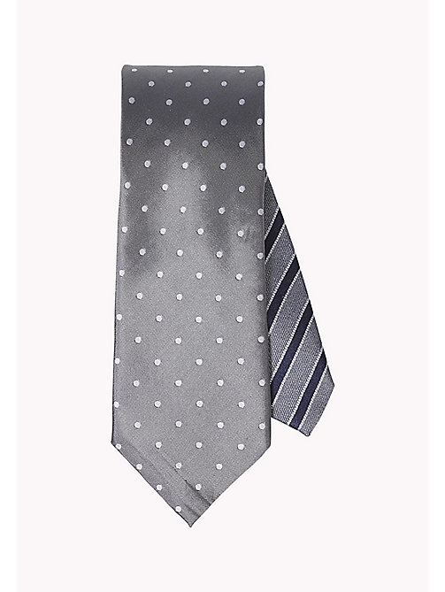 TOMMY HILFIGER Dotted Silk Tie - 020 - TOMMY HILFIGER Ties & Pocket Squares - main image
