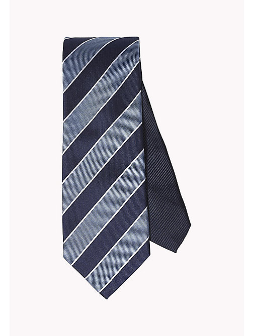 TOMMY HILFIGER Striped Silk Tie - 415 - TOMMY HILFIGER Ties & Pocket Squares - main image