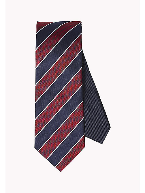TOMMY HILFIGER Striped Silk Tie - 615 - TOMMY HILFIGER Bags & Accessories - main image