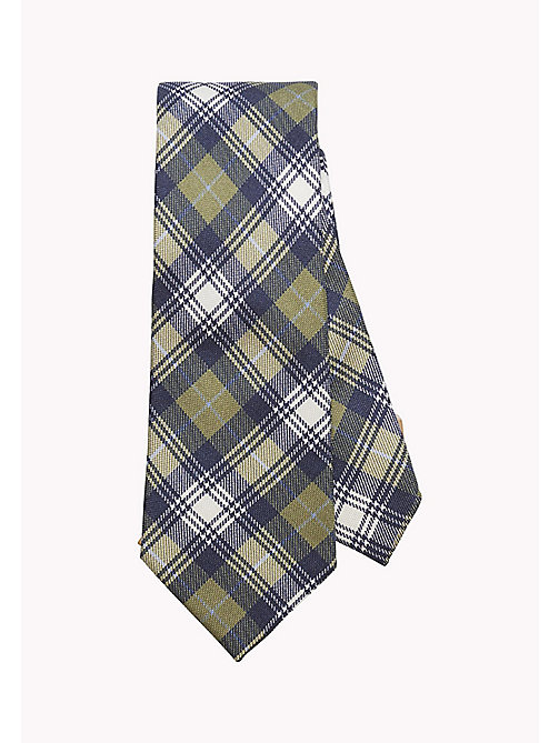 TOMMY HILFIGER Plaid Silk Tie - 309 - TOMMY HILFIGER Tailored - main image