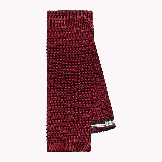 TOMMY HILFIGER Knitted Silk Tie - 429 - TOMMY HILFIGER Men - main image