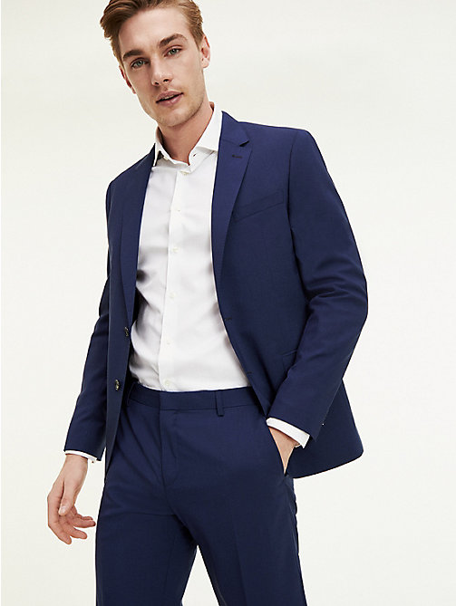 TOMMY HILFIGER Slim Fit Flex Technology Blazer - 420 - TOMMY HILFIGER Suit Separates - main image