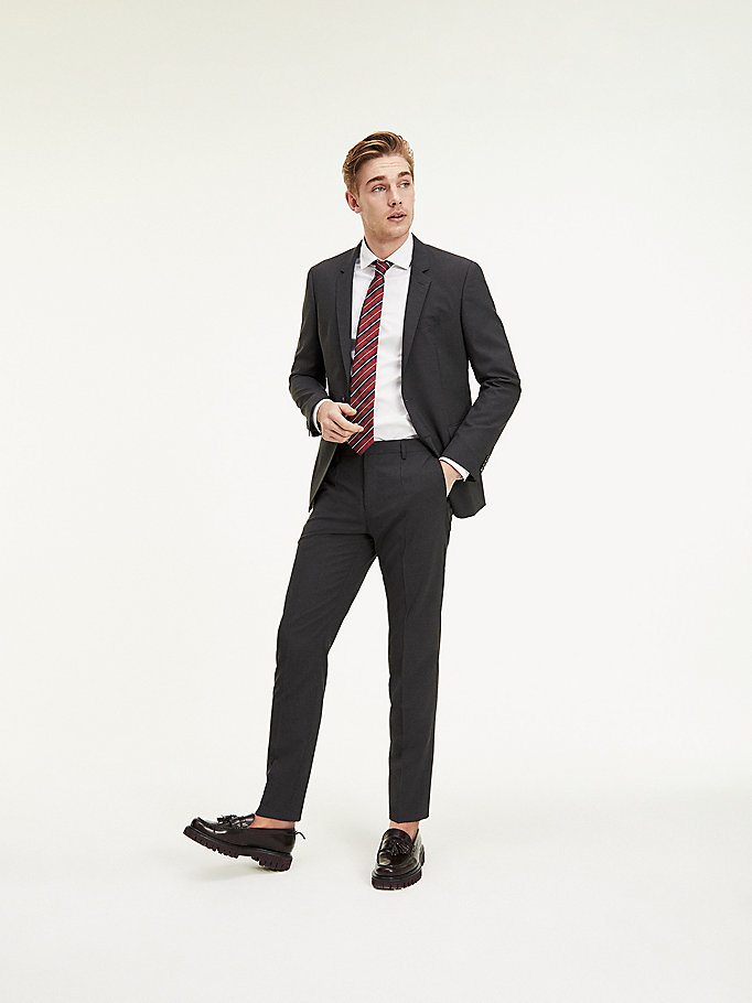 TOMMY HILFIGER Slim Fit Suit Separate Trousers - 427 - TOMMY HILFIGER Clothing - detail image 2
