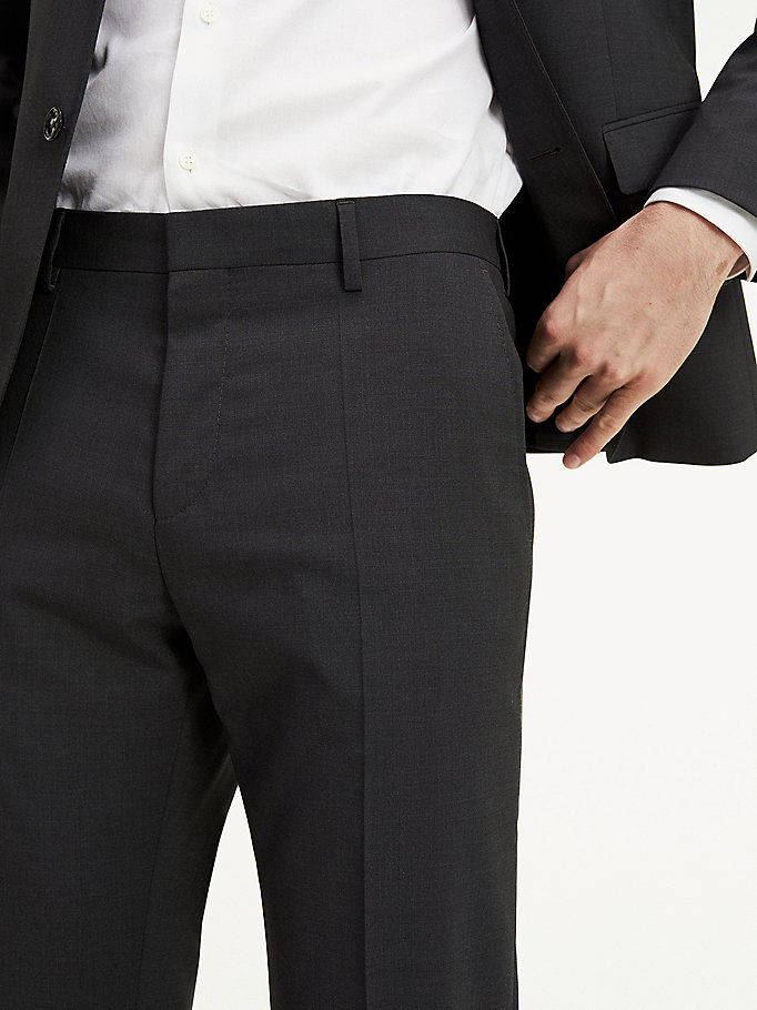 TOMMY HILFIGER Slim Fit Suit Separate Trousers - 427 - TOMMY HILFIGER Clothing - detail image 3