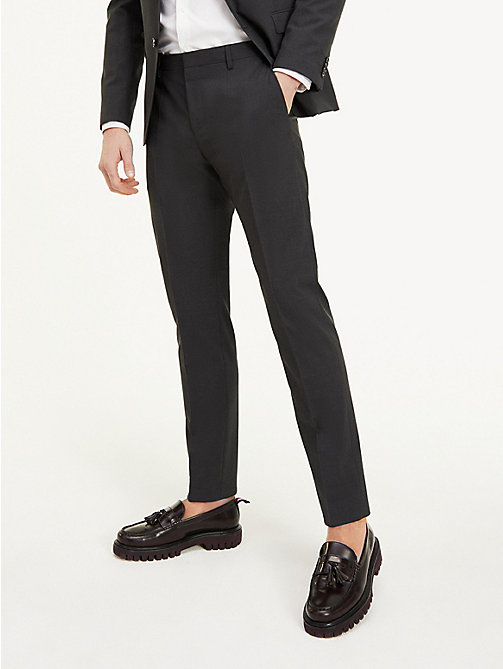 TOMMY HILFIGER Slim Fit Wool Suit Trousers - 024 - TOMMY HILFIGER Suit Separates - main image