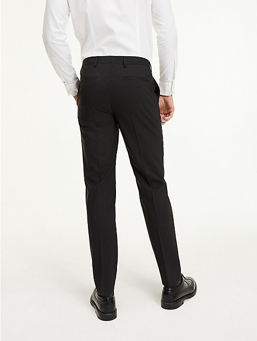 TOMMY HILFIGER Slim Fit Suit Separate Trousers - 099 - TOMMY HILFIGER Basics - detail image 1