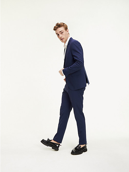 TOMMY HILFIGER Slim Fit Wool Suit Trousers - 420 - TOMMY HILFIGER Suit Separates - main image