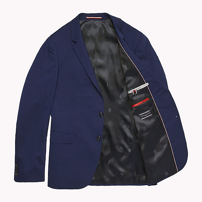 TOMMY HILFIGER Slim Fit Suit Separate Blazer - 020 - TOMMY HILFIGER Clothing - detail image 4