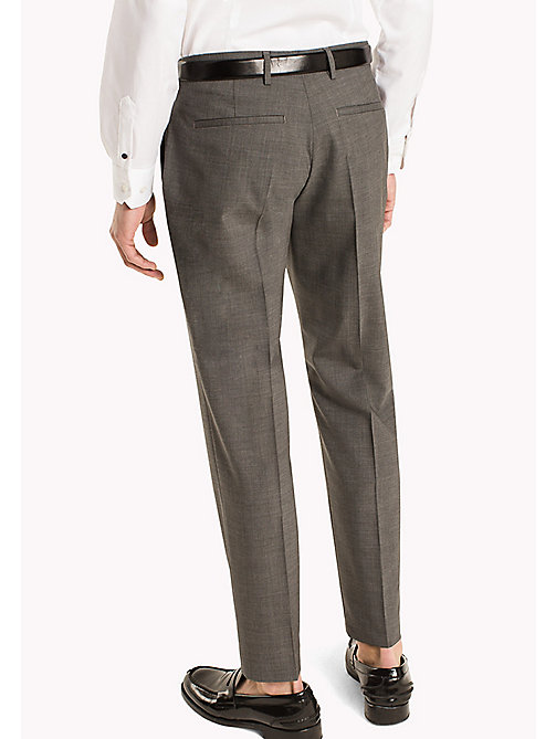 TOMMY HILFIGER Slim Fit Suit Separate Trousers - 020 - TOMMY HILFIGER Men - detail image 1