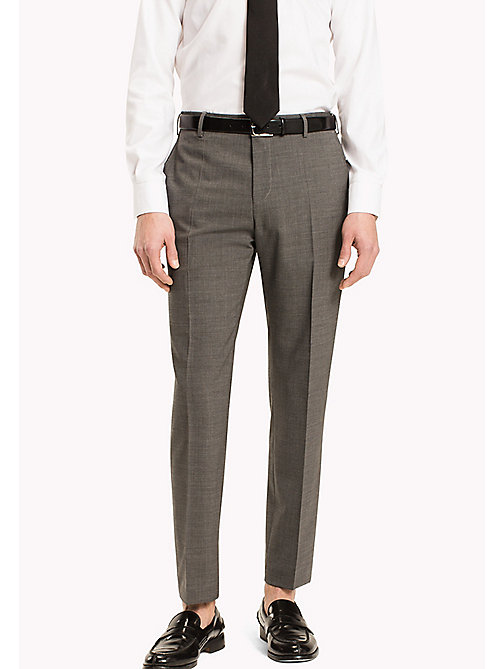 TOMMY HILFIGER Slim Fit Suit Separate Trousers - 020 - TOMMY HILFIGER Suit Separates - main image