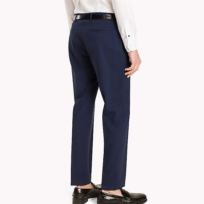 TOMMY HILFIGER Slim Fit Suit Separate Trousers - 020 - TOMMY HILFIGER Clothing - detail image 1