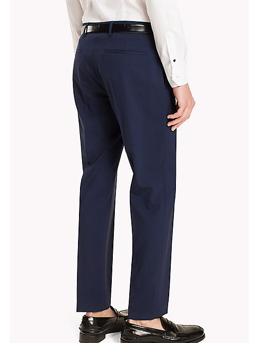 TOMMY HILFIGER Slim Fit Suit Separate Trousers - 420 - TOMMY HILFIGER Men - detail image 1