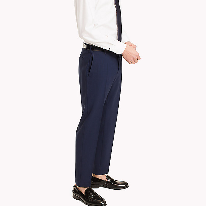 TOMMY HILFIGER Slim Fit Suit Separate Trousers - 020 - TOMMY HILFIGER Men - detail image 2