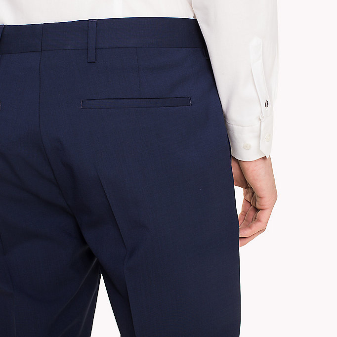 TOMMY HILFIGER Slim Fit Suit Separate Trousers - 020 - TOMMY HILFIGER Clothing - detail image 3