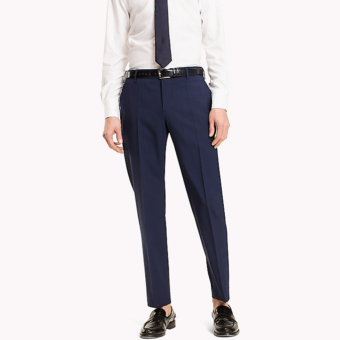 TOMMY HILFIGER Slim Fit Suit Separate Trousers - 020 - TOMMY HILFIGER Men - main image