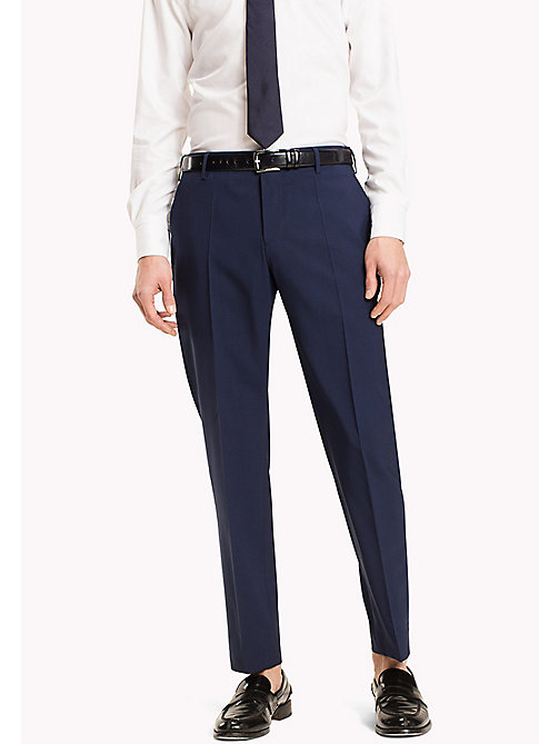TOMMY HILFIGER Slim Fit Suit Separate Trousers - 420 - TOMMY HILFIGER Clothing - main image