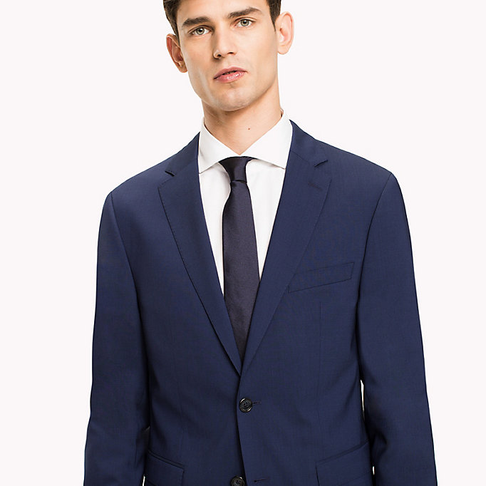 TOMMY HILFIGER Extra Slim Fit Suit Separate Blazer - 099 - TOMMY HILFIGER Clothing - detail image 3