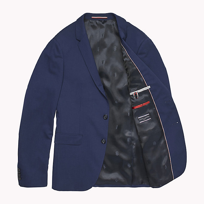 TOMMY HILFIGER Extra Slim Fit Suit Separate Blazer - 099 - TOMMY HILFIGER Clothing - detail image 4