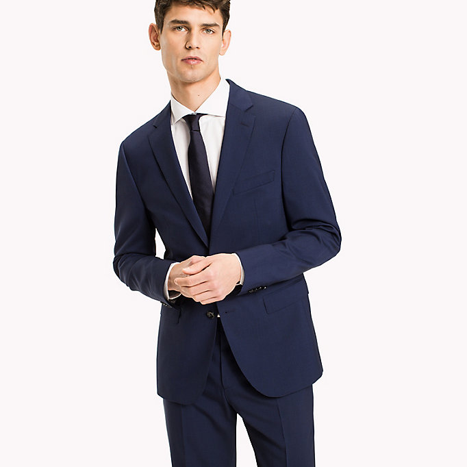 TOMMY HILFIGER Extra Slim Fit Suit Separate Blazer - 099 - TOMMY HILFIGER Clothing - main image