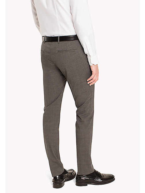 TOMMY HILFIGER Extra Slim Fit Suit Separate Trousers - 020 - TOMMY HILFIGER Clothing - detail image 1