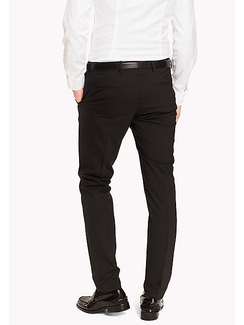 TOMMY HILFIGER Losse extra slim fit broek - 099 - TOMMY HILFIGER Tailored - detail image 1