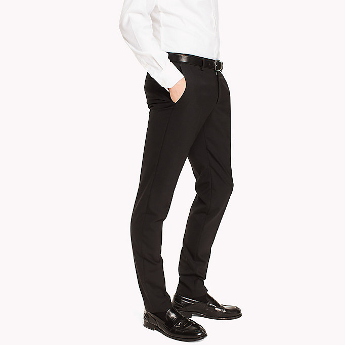 TOMMY HILFIGER Extra Slim Fit Suit Separate Trousers - 020 - TOMMY HILFIGER Clothing - detail image 2