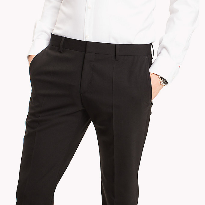 TOMMY HILFIGER Extra Slim Fit Suit Separate Trousers - 020 - TOMMY HILFIGER Clothing - detail image 3