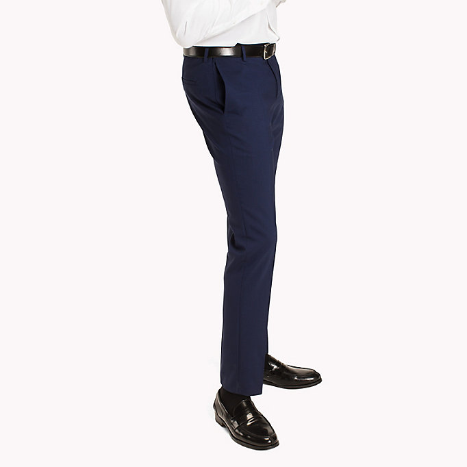 TOMMY HILFIGER Extra Slim Fit Suit Separate Trousers - 099 - TOMMY HILFIGER Clothing - detail image 2