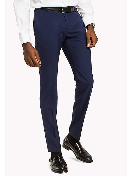 TOMMY HILFIGER Extra Slim Fit Suit Separate Trousers - 420 - TOMMY HILFIGER Clothing - main image