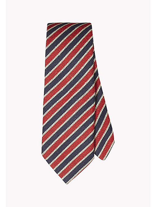 TOMMY HILFIGER Striped Silk Tie - 429 - TOMMY HILFIGER Tailored - main image