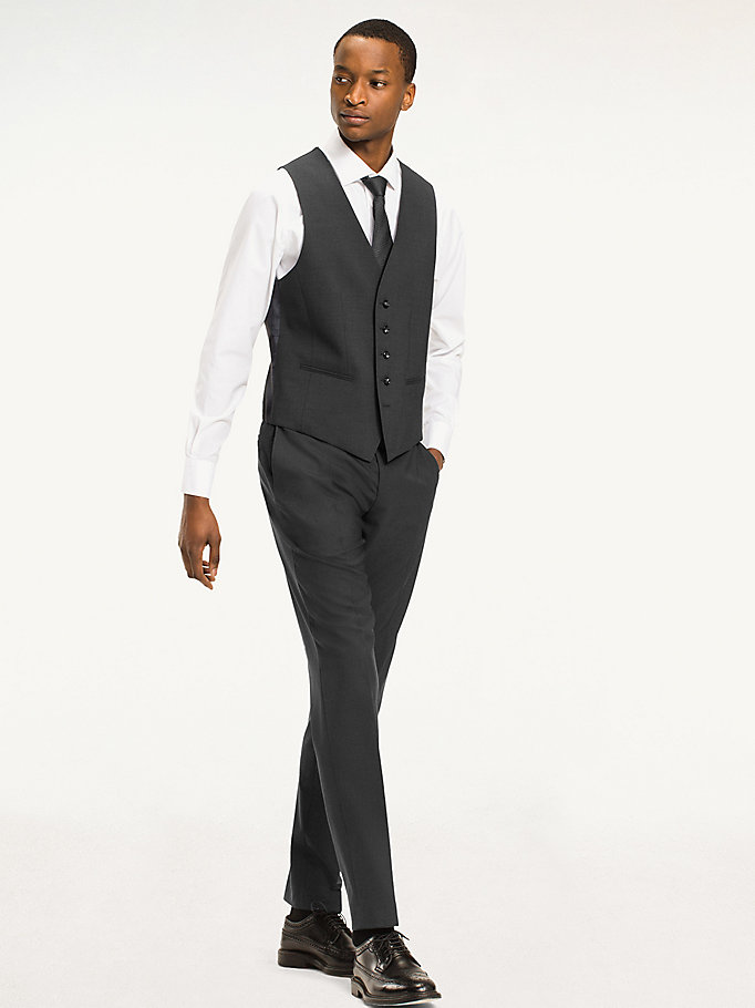 TOMMY HILFIGER Slim Fit Waistcoat - 427 - TOMMY HILFIGER Clothing - detail image 2