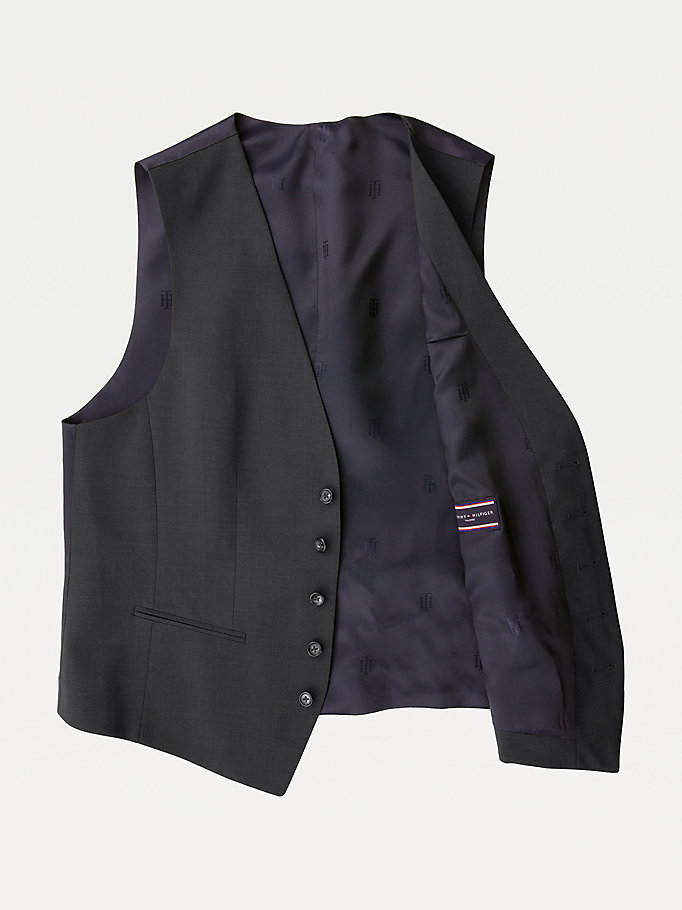TOMMY HILFIGER Slim Fit Waistcoat - 427 - TOMMY HILFIGER Clothing - detail image 4