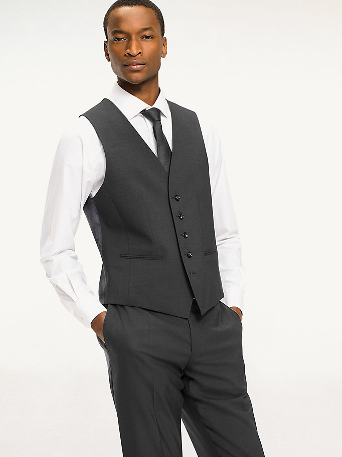 TOMMY HILFIGER Slim Fit Waistcoat - 427 - TOMMY HILFIGER Clothing - main image