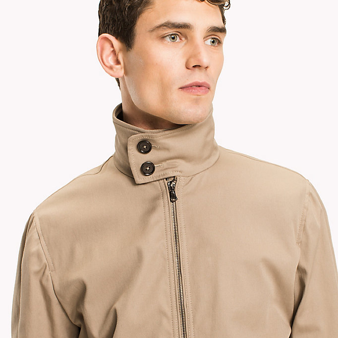 TOMMY HILFIGER Button Collar Cotton Jacket - 429 - TOMMY HILFIGER Men - detail image 3