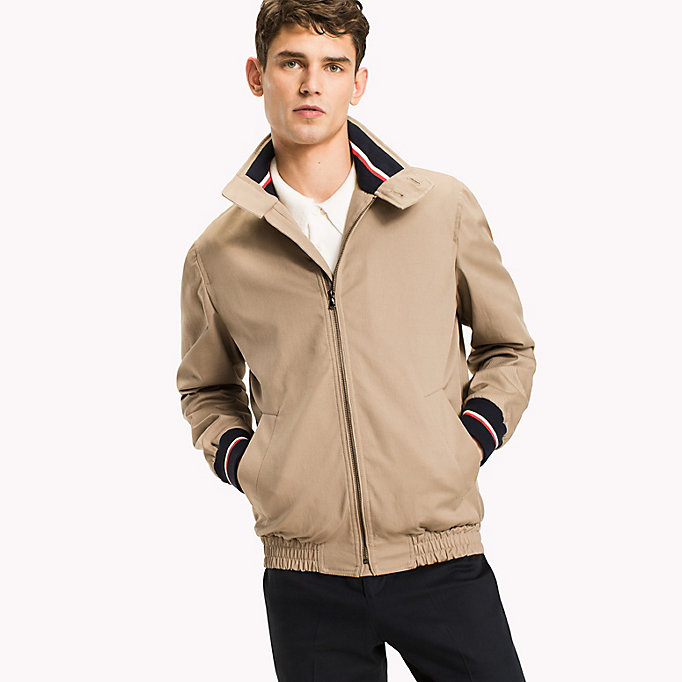 TOMMY HILFIGER Button Collar Cotton Jacket - 429 - TOMMY HILFIGER Men - main image