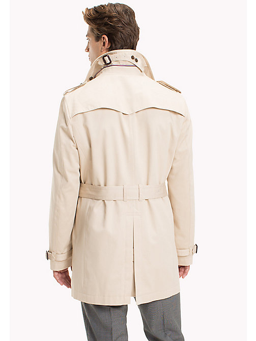 TOMMY HILFIGER Double Breasted Trench Coat - 201 - TOMMY HILFIGER Men - detail image 1