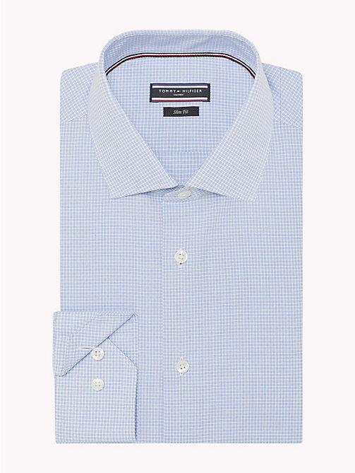 TOMMY HILFIGER Slim Fit Shirt mit Karomuster - 411 - TOMMY HILFIGER Businesshemden - main image 1