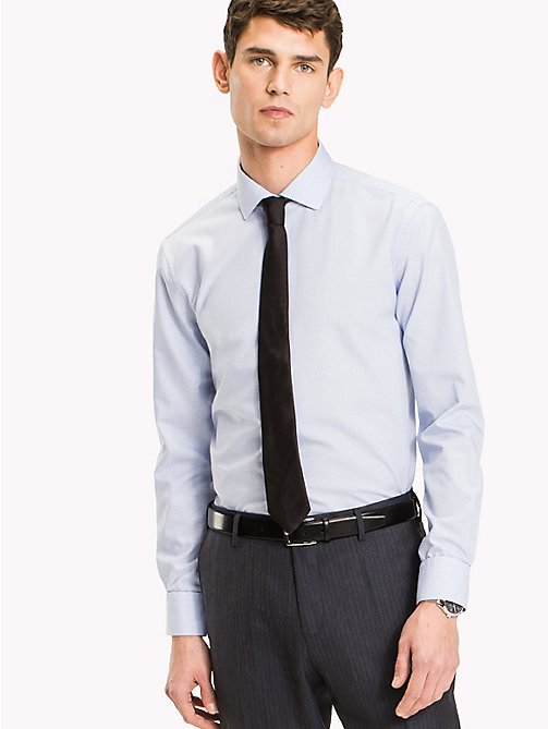 TOMMY HILFIGER Slim Fit Shirt mit Karomuster - 411 - TOMMY HILFIGER Businesshemden - main image