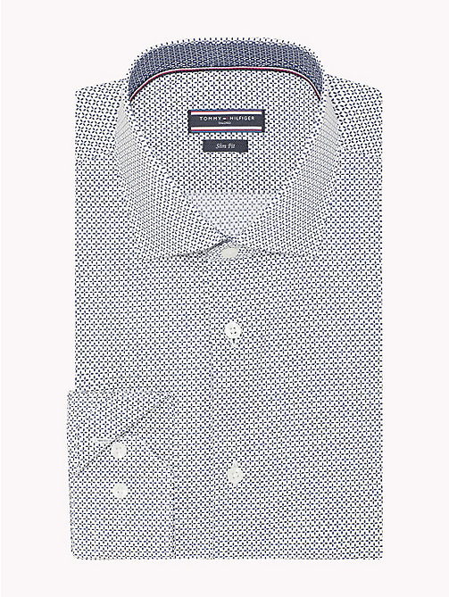 TOMMY HILFIGER Slim Fit Shirt mit Print - 104 - TOMMY HILFIGER Businesshemden - main image 1