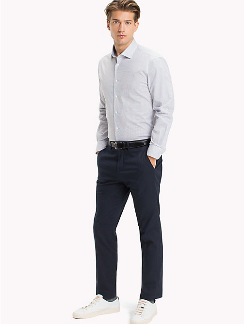 TOMMY HILFIGER Slim Fit Shirt mit Print - 104 - TOMMY HILFIGER Businesshemden - main image
