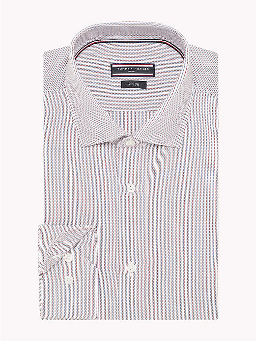 TOMMY HILFIGER Stripe Slim Fit Shirt - 104 - TOMMY HILFIGER Formal Shirts - detail image 1