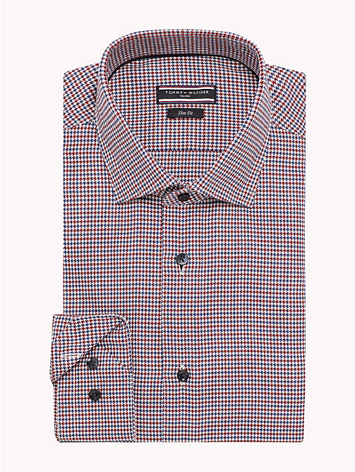TOMMY HILFIGER Slim Fit Shirt mit Karos - 611 -  Businesshemden - main image 1