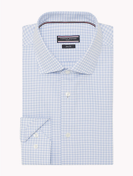 TOMMY HILFIGER Check Slim Fit Shirt - 410 - TOMMY HILFIGER Formal Shirts - detail image 1