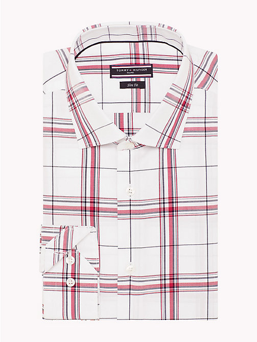 TOMMY HILFIGER Oxford Cotton Check Shirt - 104 - TOMMY HILFIGER Formal Shirts - detail image 1
