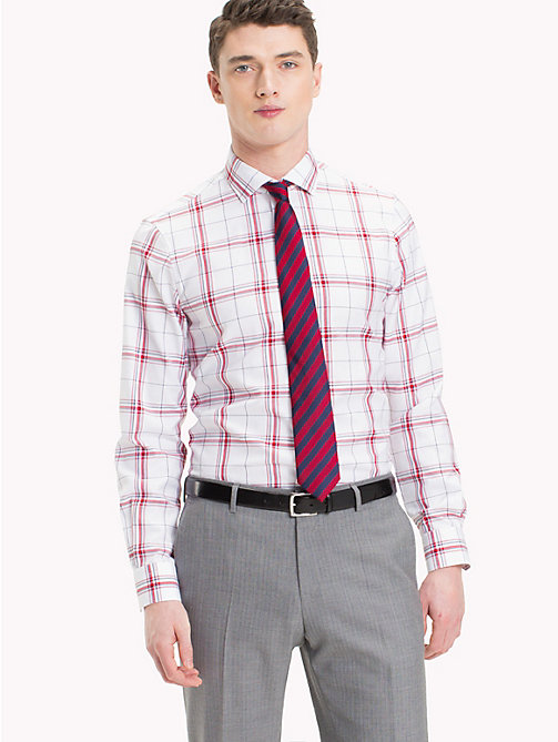 TOMMY HILFIGER Oxford Cotton Check Shirt - 104 - TOMMY HILFIGER Formal Shirts - main image