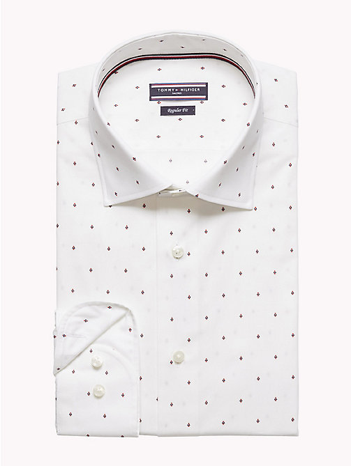 TOMMY HILFIGER Geometric Print Shirt - 100 - TOMMY HILFIGER Formal Shirts - detail image 1